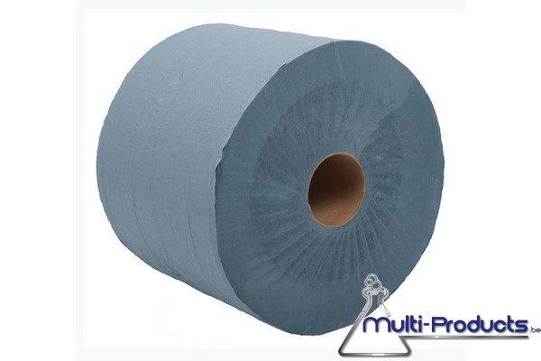 Rouleau JUMBO maxi bleu 3 plis 360 m 1000 cps
