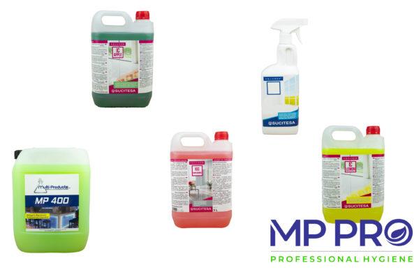Nettoyants sols et multi-surfaces