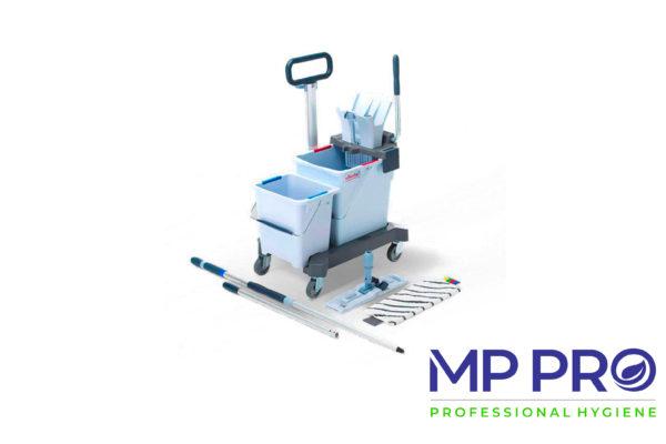 Chariots de lavage et systèmes de nettoyage à plat
